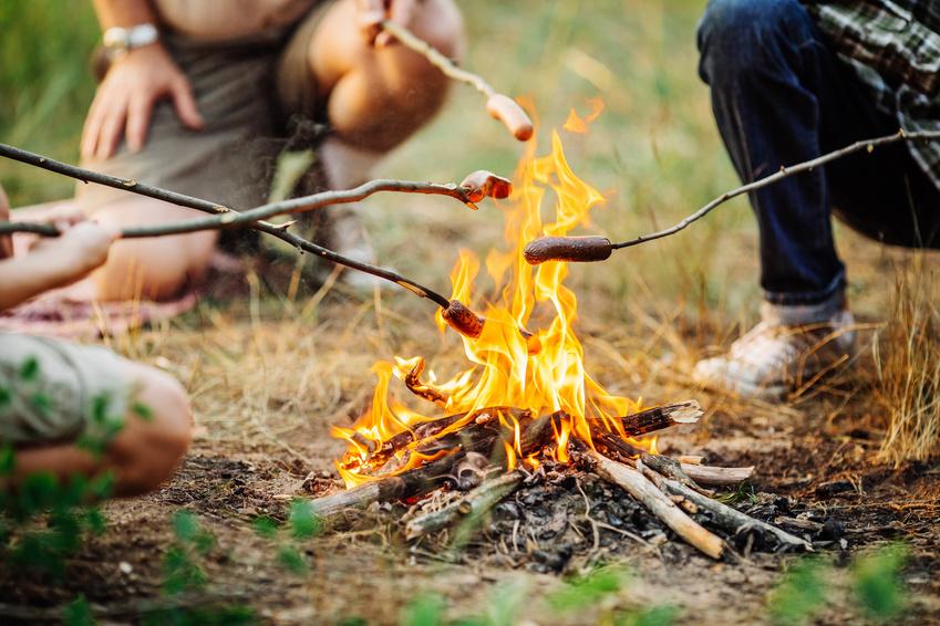 Waldbrandgefahr durch unerlaubtes Feuermachen
