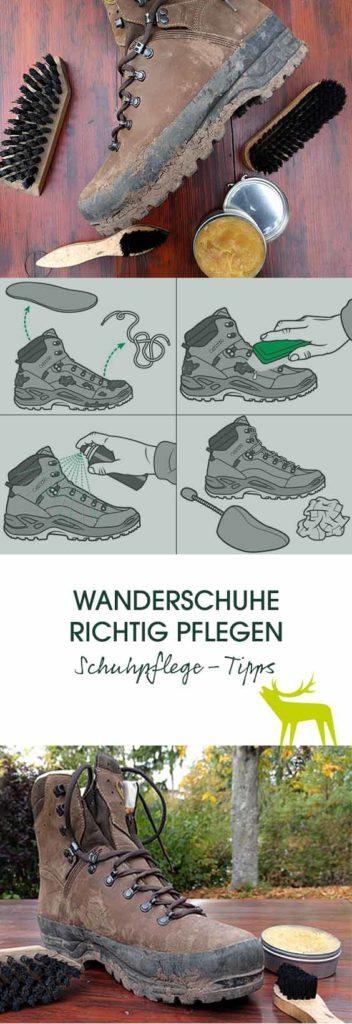 Frankonia Pflegetipps für Outdoor-Schuhe