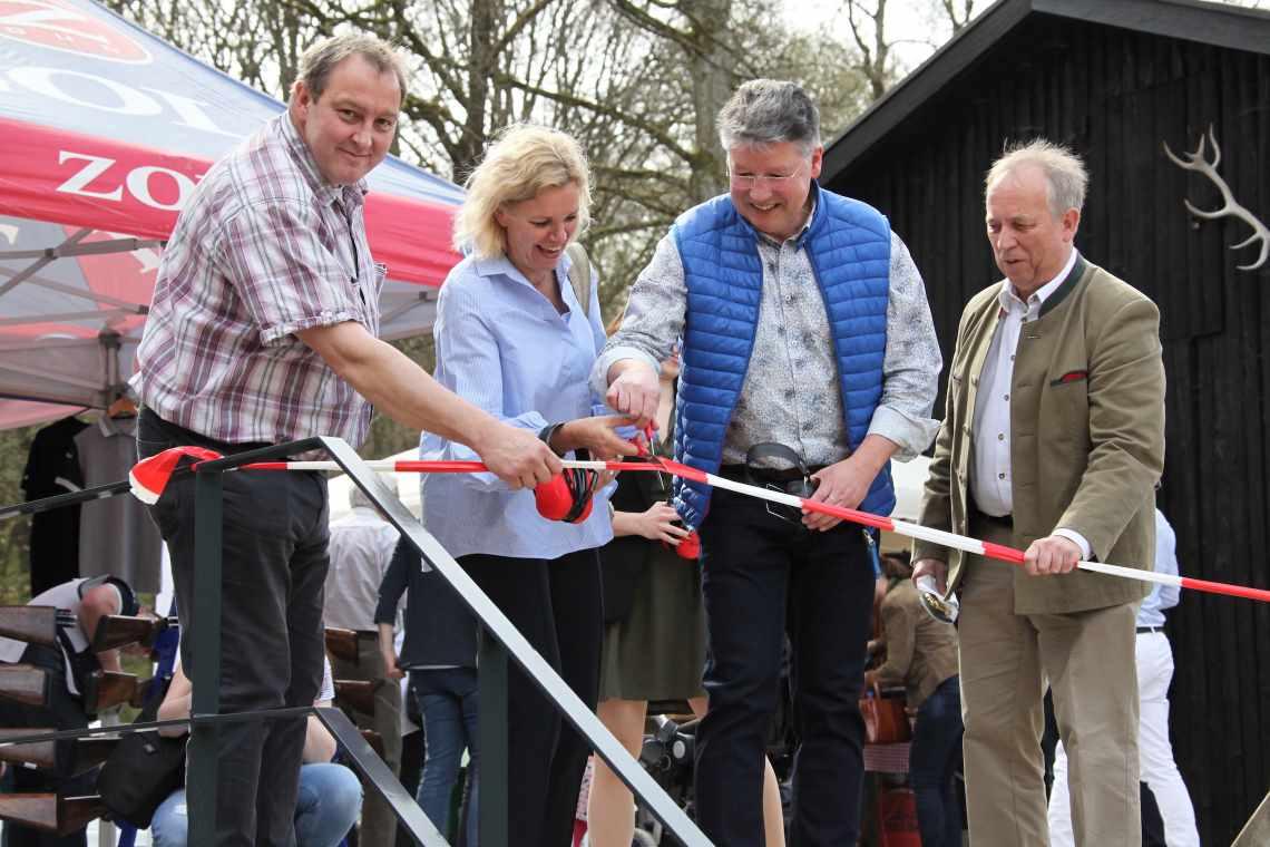 Eröffnung Frankonia Schießstand Bütthard