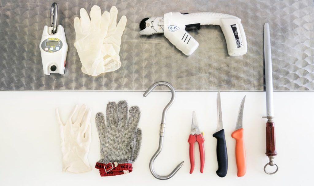 Zerwirk Werkzeug