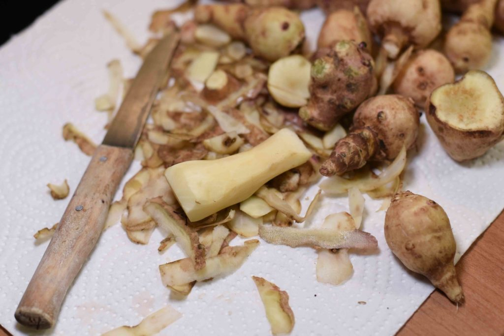 Topinamburpüree selber machen - Rezept