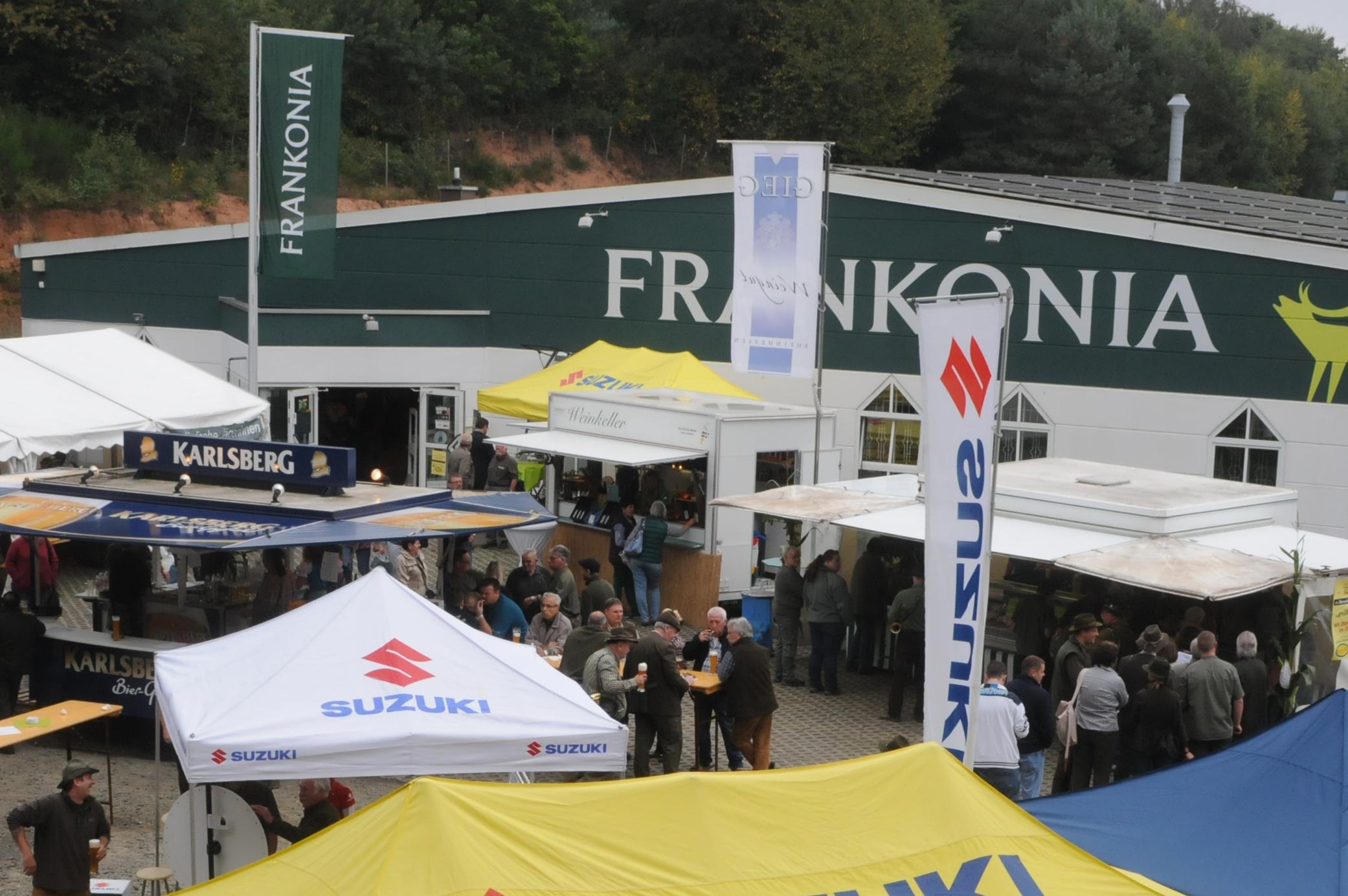 Entfernungsmesser Jagd Frankonia : Jägerfest bei frankonia bexbach mit neuem besucherrekord