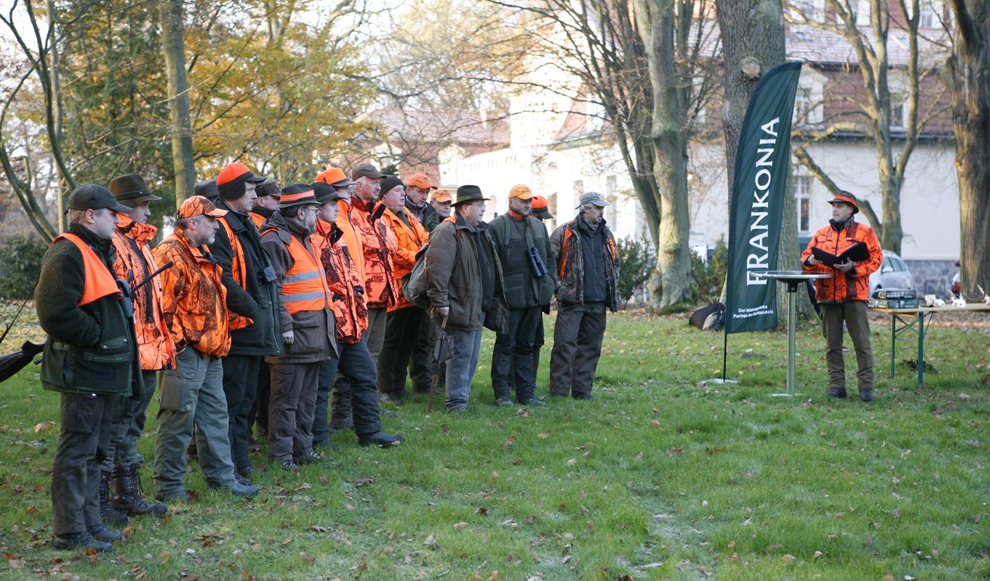 Entfernungsmesser Jagd Frankonia : Frankonia großhandel veranstaltet jagd event auf schloss liebenberg