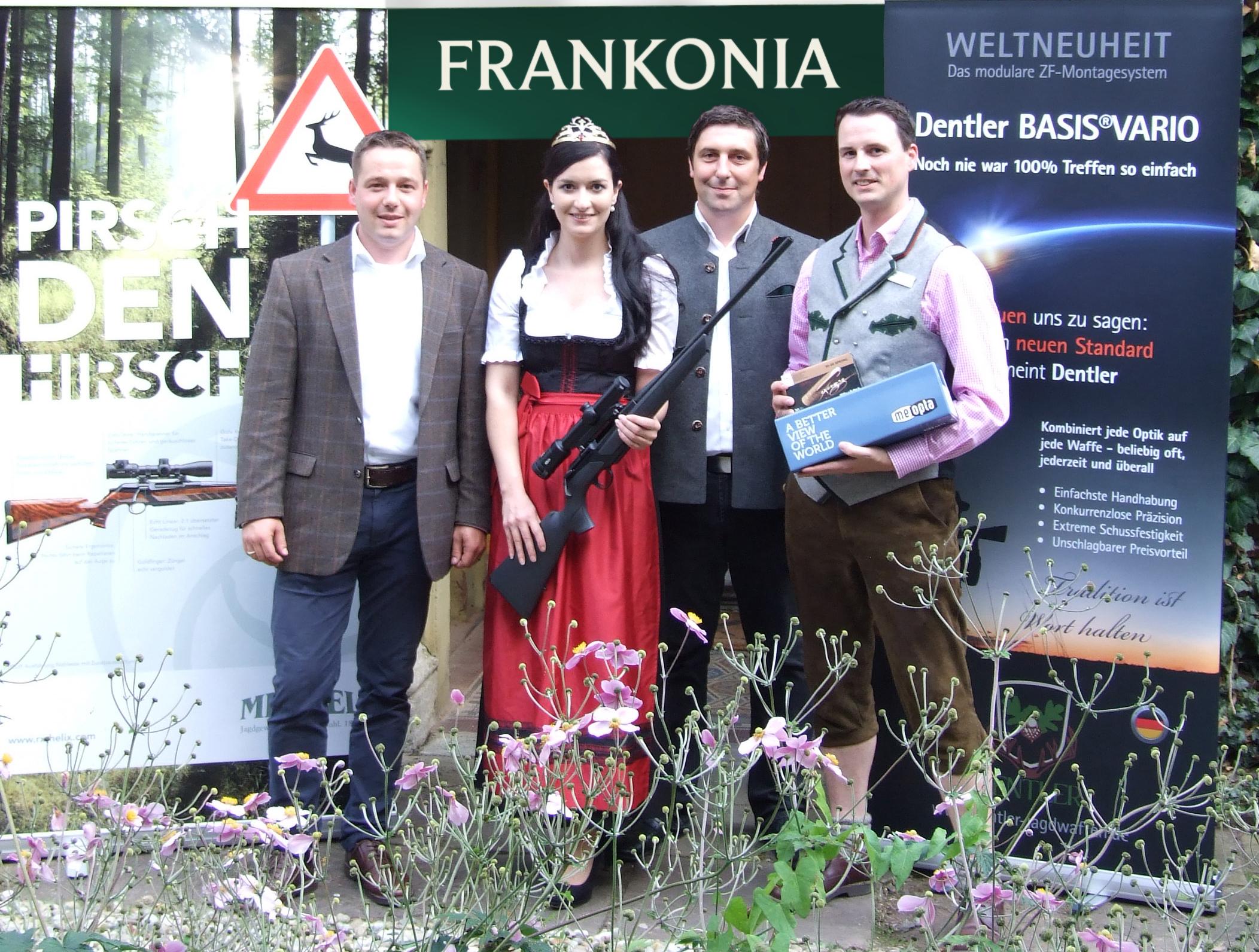 Entfernungsmesser Jagd Frankonia : Frankonia und merkel statten bayerische jagdkönigin aus rx
